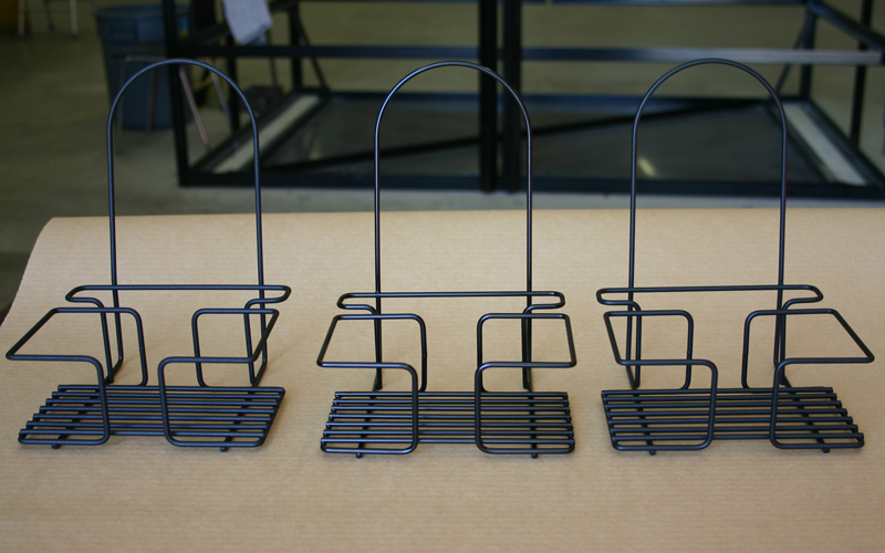 Racks Displays Hunter Wire - Table top caddies for restaurants