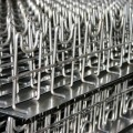 M-chairs stacked on a pallet and ready for shipment